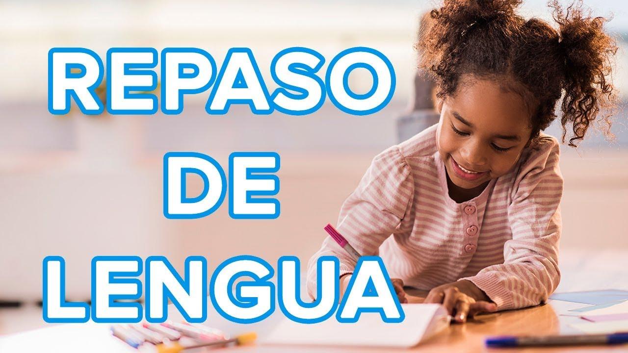 Repaso de lengua para niños | Lectura, escritura y ortografía ????