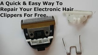 How To repair Your Electronic Hair Clippers Spring Attachment