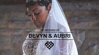 Cleveland Fairytale Wedding - Devyn And Aubri