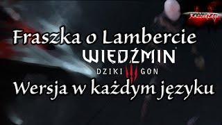 Wiedźmin 3 Dziki Gon - Bluzgi, Przekleństwa, Wulgarne Teksty