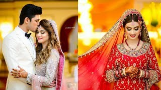 Pakistani Wedding Lovely Poses Of Bride And Groom With Beautiful Location