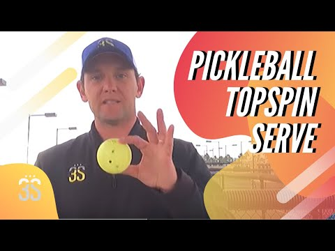 Topspin Serve
