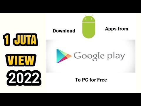 cara baru download aplikasi playstore di pc