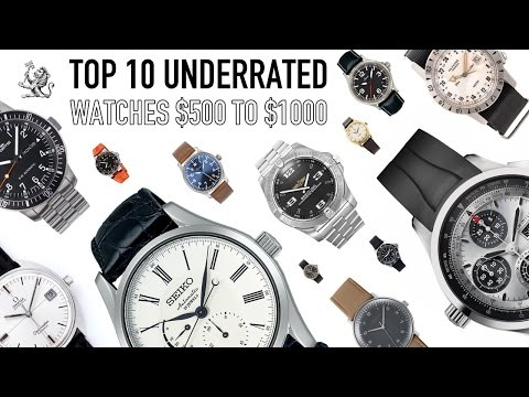 Top 10 Underrated Best Watches From $500 to $1000 – Omega, Sinn, Fortis, Breitling, Hamilton & More