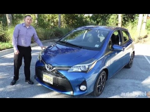 2015 Toyota Yaris Video Walkaround