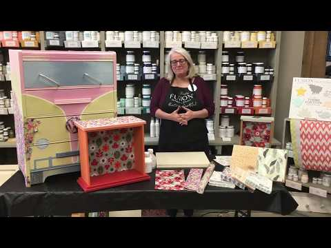 How to Decoupage.  The fastest...the easiest...the BEST!