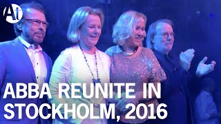 ABBA REUNION 2016! Full interview at Mamma Mia! / 'I Still Have Faith In You' due 2018