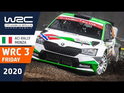 WRC3 第7戦ラリー・モンツァ 金曜日のハイライト動画