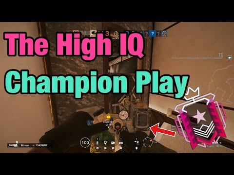 The High IQ Champion Play - Rainbow Six Siege: Operation Ember Rise