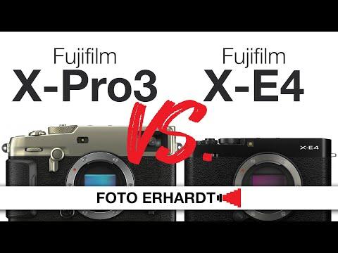 Versus: Fujifilm X-Pro3 vs. X-E4