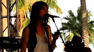 "Charlotte Gainsbourg - ""Master's Hands"" @ Coachella 2010"