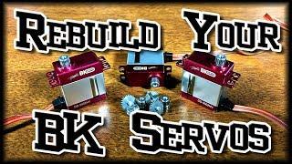 How To Rebuild BK DS-3002HV Servos