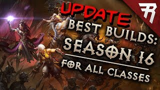 Diablo 3 Season 16 Tier List Update (Best builds for all classes)