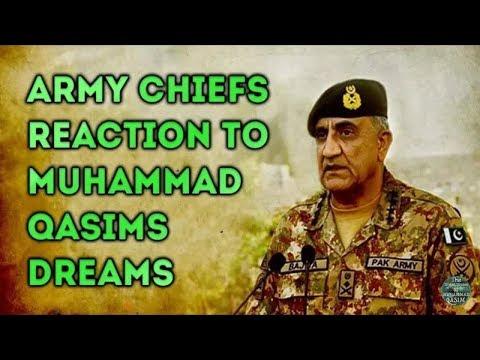 Reaksi pertama Ketua Tentara Pakistan terhadap Mimpi Muhammad Qasim