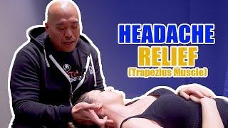 Headache(Trapezius muscle) Release