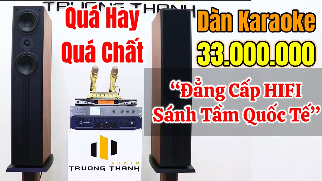 Cực sốc dàn karaoke chỉ 33triệu nghe nhạc và hát karaoke siêu đỉnh với loa Paramax D88 Limited