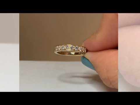Alianza CyC colección Everyday con 0.77 diamantes en oro amarillo de 18k