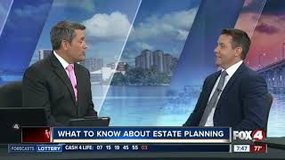 Recent appearance on Fox4 News discussing Wills & Probate