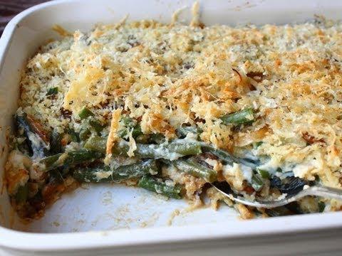 French Onion Green Bean Casserole Recipe – Thanksgiving Green Bean Side Dish