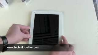 Archos 80 Titanium Android Tablet Unboxing