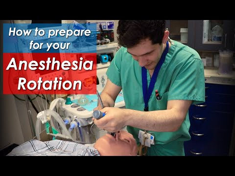 , title : 'How to Prepare for your Anesthesiology ROTATION in Residency or Medical School