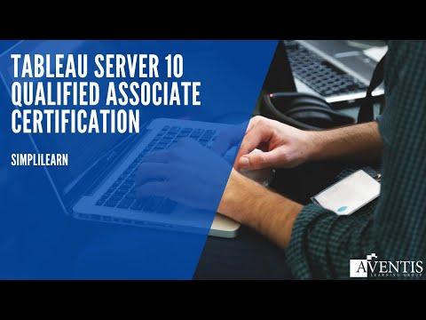Tableau Server 10 Qualified Associate Certification - YouTube
