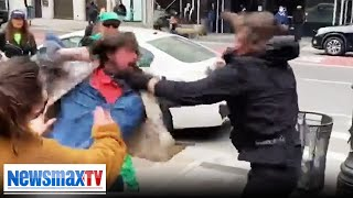 Fights break out at St. Patty's Trump parade in NYC   REPORT