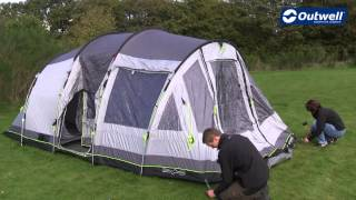 Outwell Nevada LP Tent Pitching Video |  Innovative Family Camping