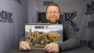 JCB HMEE-1 быстроходный инженерный экскаватор. Сборная модель в масштабе 1/35. PANDA HOBBY PH35041 от компании Хоббинет. Сборные модели. - видео