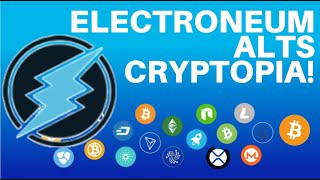 HOW TO GET YOUR ELECTRONEUM AND ALTCOINS FROM CRYPTOPIA!!