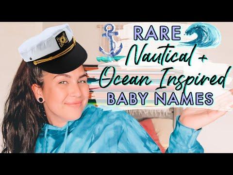 RARE NAUTICAL + OCEAN INSPIRED BABY NAMES | Unique Baby Names For Boys & Girls