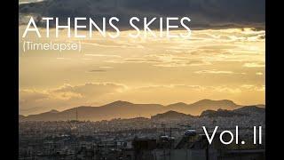 Athens Skies (Timelapse) Vol.2