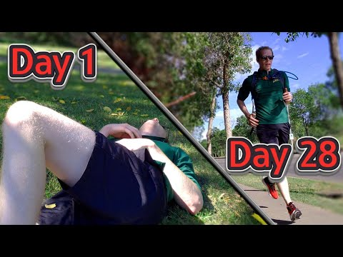 YouTuber tries to run a marathon with only a month of training
