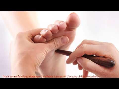 Thai Foot Reflexology Massage Certificate Course ... - YouTube