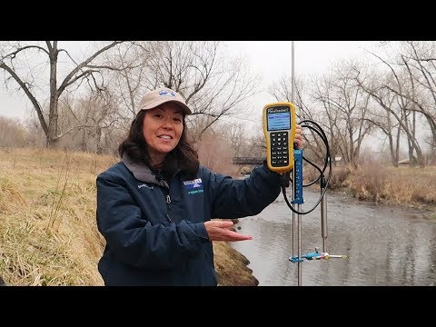 How to measure a river stream? This is how it's done!