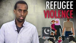 """""""Refugee"""" vs. Swedish Female Cops"""