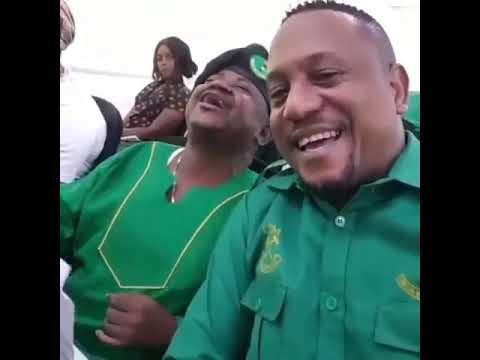 Pierre Likwidi afanya madudua kwenye mkutanp wa Chama Cha Mapinduzi(CCM)