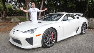LEXUS LFA REVIEW - WHY ITS A BARGAIN AT $400,000!