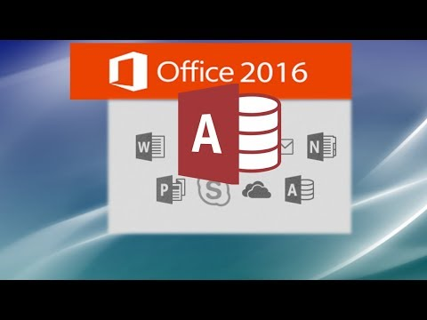 Microsoft Access 2016 Complete Tutorial - Access Made Easy by ...