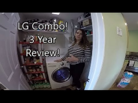 LG Washer Dryer Combo Unit….Our THREE YEAR Review!