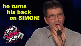 SIMON COWELL CONFUSED! He ASKS CONTESTANT A QUESTION But Gets NO ANSWER! Watch What Happens NEXT!