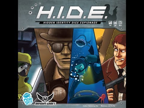 The Purge: # 1403 H.I.D.E.: Hidden Identity Dice Espionage: Deduction for Mulitple Players while shooting (guessing) as much as you can and if all else fails there will be a shootout!