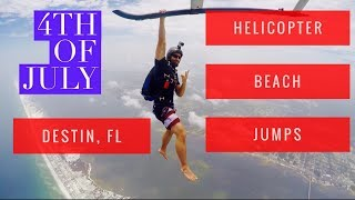 Superday Ep. 5 : Helicopter Beach Skydives over Destin
