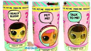 Интерактивный Питомец для Куклы Лол LOL SURPRISE INTERACTIVE Моя коллекция Лол! Распаковка Лол!