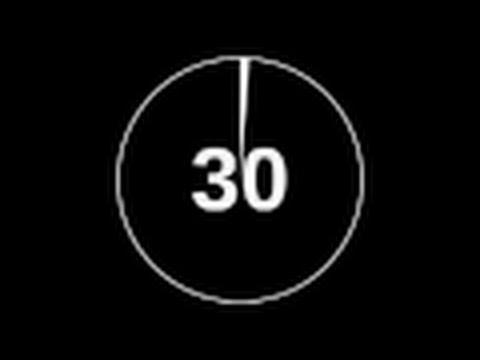 intervalo 30 segundos con 10 segundos resto ✔