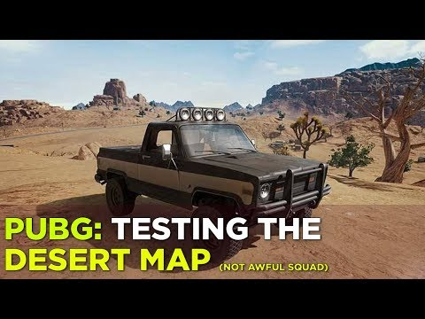 PUBG: Desert Map Gameplay