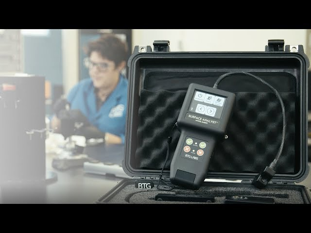 Total Surface Quality Control with the Surface Analyst