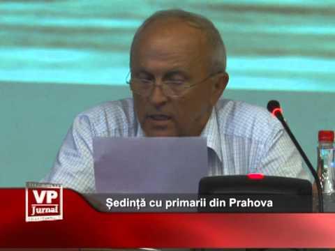 Ședință cu primarii din Prahova
