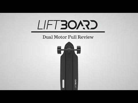 Liftboard Dual Motor Electric Skateboard Review