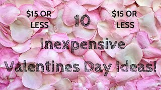 10 Inexpensive Valentines Day Date Ideas